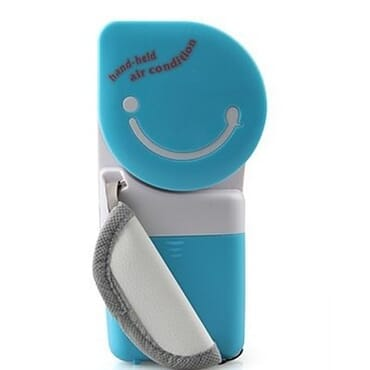 Mini Portable USB Handheld Air Conditioner-Blue