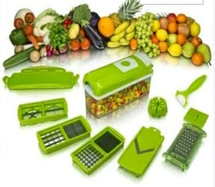 Nicer dicer plus handy chopper