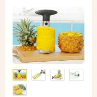 Pineapple Curer Peeler Cutter