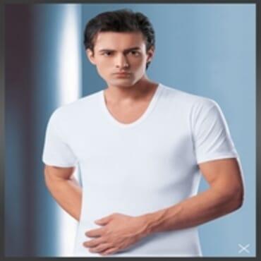 BYC Men's V-Neck T-Shirt - White