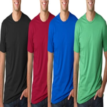 Men's Pack Of 4 BYC Fitted Colored Fashion T Shirt