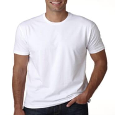 BYC Slim -Fit Fashion Round-Neck T- Shirt -White