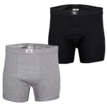 Police Black and Grey 2in1 Boxers Size M - XXL