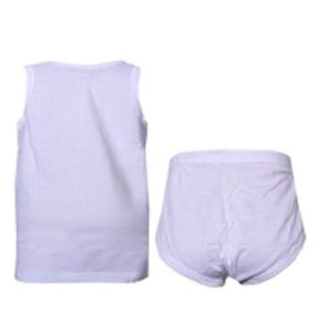 BYC BOYS VEST/BRIEF SIZE 5-12 YEAR