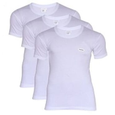 Lux Cozi V 3-In- 1 T-Shirts Bundle –White M & L