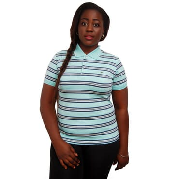 Lacoste Stretch Pique Ladies Polo Multicolor