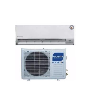 Polystar Split Unit 1hp Air Conditioner Unit With Free Installation Kit + Wall Bracket - Pv-09cs/ak