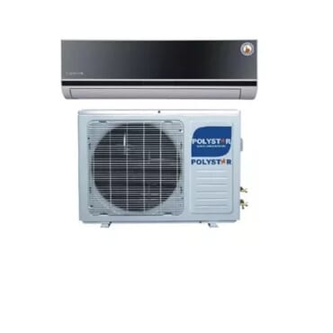 Polystar Polystar 1hp Air Conditioner Unit With Glass Face - Free Installation Kit Pv-bj09led
