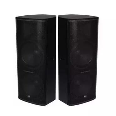 Tt-55 Dual 15'' Full Range Speakers-a Pair