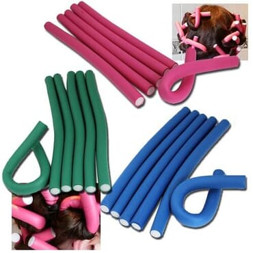 Soft Bending Rollers - 10pcs