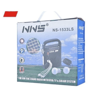 Ns-1533ls Solar Energy Radio With Colored Box Fm/am/sw/usb/tf