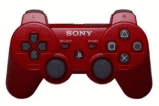 Sony Ps3 Dualshock Controller -red