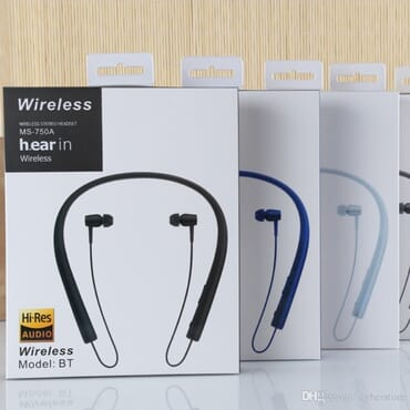 WIRELESS HEADSET SONY MS-750A