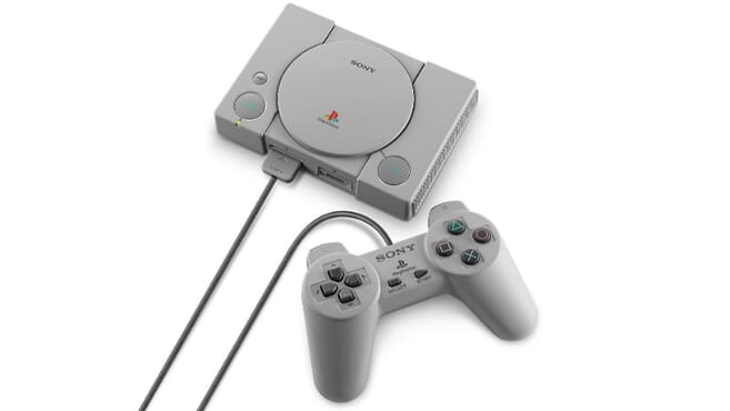 Playstation CLASSIC CONSOLE - 20 Games Preloaded
