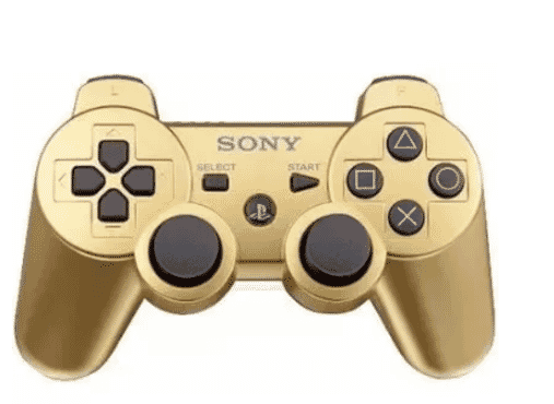 Sony Wireless Controller For Sony PS3 Game - Gold