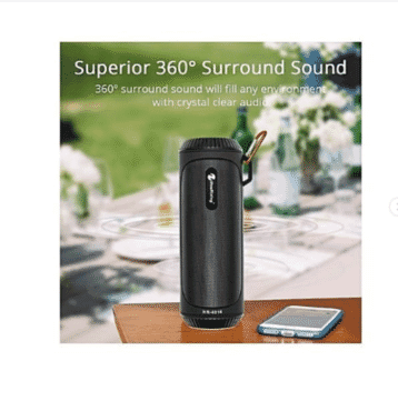Bluetooth Speaker With Powerbank Flash Light Official NewRixing brand Product