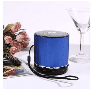 A&S Mini Bluetooth Speaker Ws - Blue