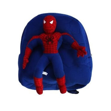 Spiderman Teddy Bag - Blue