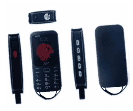 SQ Professional SQ1000 Feature Phone - 20000mAh Battery + WhatsAPP