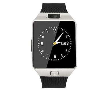 Generic Hidden Camera Smart Phone Watch - Silver
