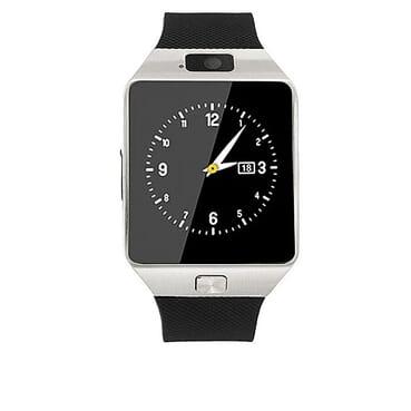 Generic Hidden Camera Smart Phone Watch - Silver