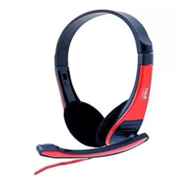Havit Stereo Headphone - Black & Red