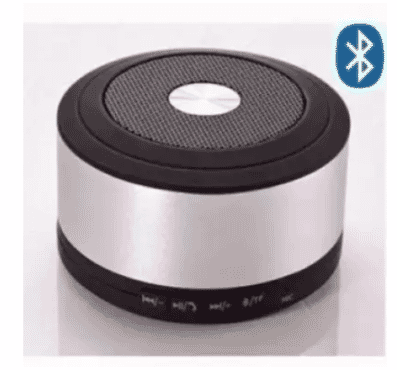Universal Chef My Vision 3-In-1 Mini Portable Rechargeable Stereo Universal Bluetooth Speaker