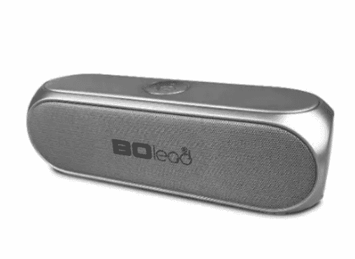 BOlead Portable Bluetooth MP3 Subwoofer Speaker - Grey