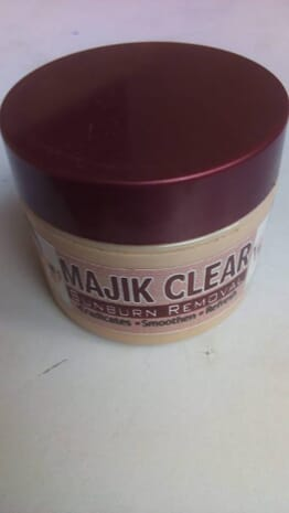 Majik Clear Sunburn Removal