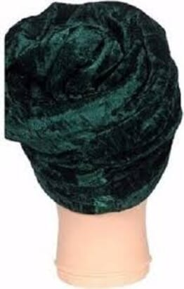 Double Layer Turban - Green(Available in Red,Black,Orange,Purple etc)