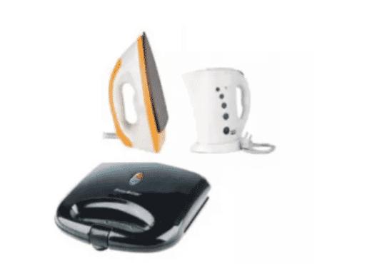 Sonik Iron, Jug & Deluxe Toaster