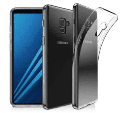 Transparent Back Case For Samsung Galaxy A8 2018