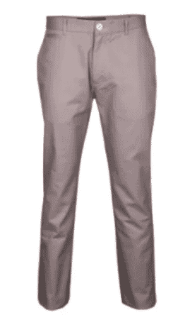 BLUE INC Twill Slim Fit Chino - Brown