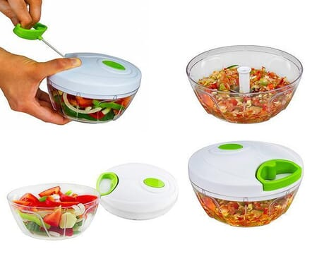 Manual Salad Maker