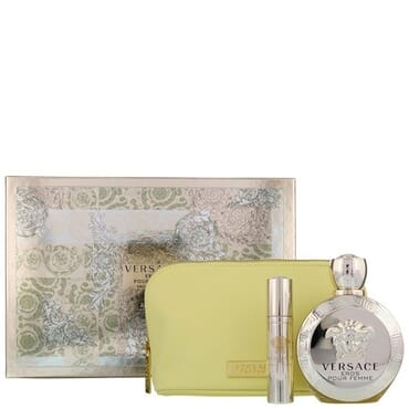 Versace Eros Pour Femme EDP 100ml Gift Set For Women