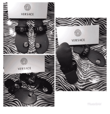 Designer Men's Versace Slippers