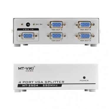 8-port Vga Video Splitter - 1x8 Vga Distribution Amplifier - Vga Splitter