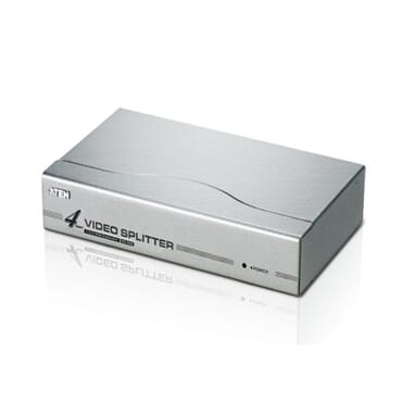 8-port Vga Video Splitter - 1x8 Vga Distribution Amplifier - Vga Splitter