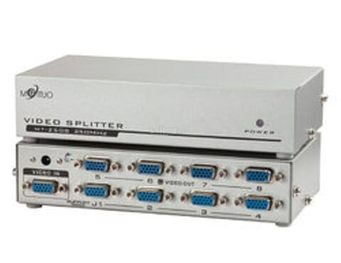VGA 8 Port VGA Video Splitter