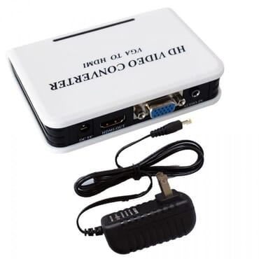 1080P VGA HDMI Audio Adapter Connector VGA2HDMI Mini VGA To HDMI Converter With Audio