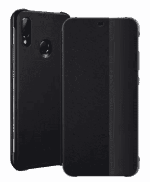 Universal Chef Pro Smart View Flip Case For Huawei P20 - Black