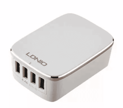 LDNIO 4-Port USB Wall Travel Charger with Auto-ID