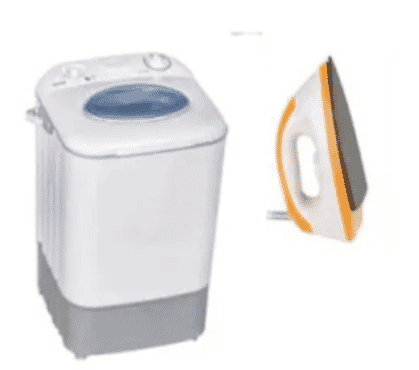 Washing Machine - 4.5kg + Free Sonik Iron