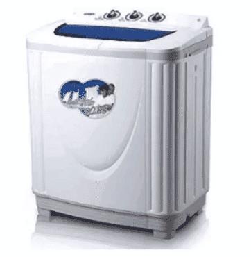 QASA 8.2KG Double Tub Washing Machine