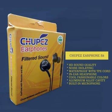 Chupez Premium S8 Earphone +ear-plug