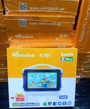 Wintouch K701 Kids Tablet-Single Sim- 7INCHE -1GB RAM-16GB ROM