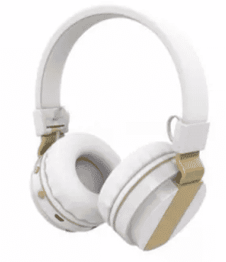 Zealot 047 Wireless Bluetooth Stereo Headphone with Microphone and TF Card - White