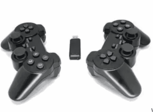 Wireless Pc Gamepad + Wiele Silver Headset