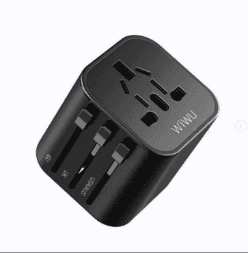 WiWU Universal Plug Travel Adapter