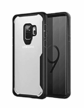 Xundd Transparent Back Case For Samsung Galaxy S9 - Black
